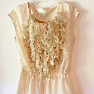 MM Couture Womens Sleeveless Silk Blouse Large